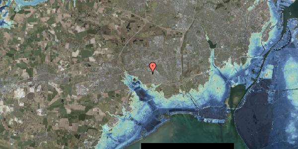 Stomflod og havvand på Hyrdeengen 127, 2625 Vallensbæk