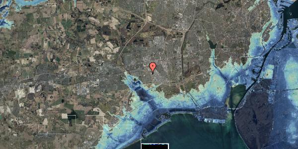 Stomflod og havvand på Hyrdeengen 133, 2625 Vallensbæk