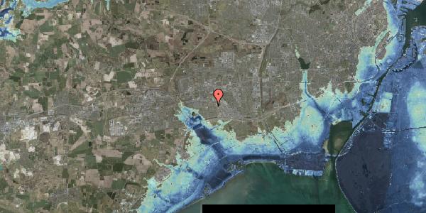 Stomflod og havvand på Hyrdeengen 141, 2625 Vallensbæk