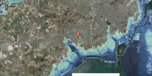 Stomflod og havvand på Hyrdeengen 155, 2625 Vallensbæk
