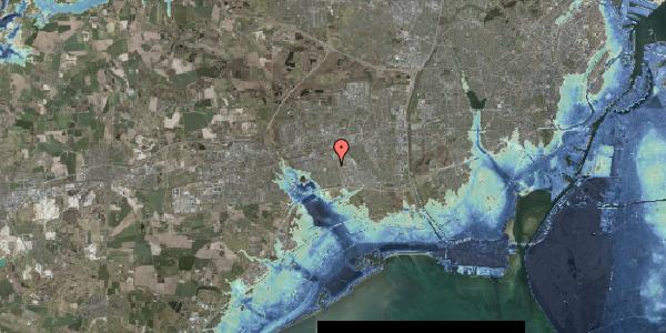 Stomflod og havvand på Hyrdeengen 171, 2625 Vallensbæk