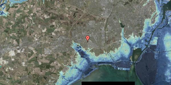 Stomflod og havvand på Hyrdeengen 207, 2625 Vallensbæk