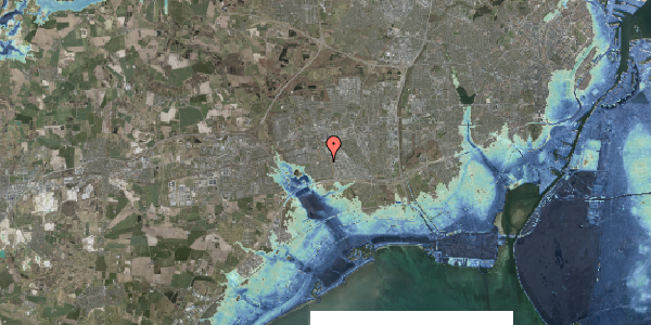 Stomflod og havvand på Hyrdeengen 235, 2625 Vallensbæk