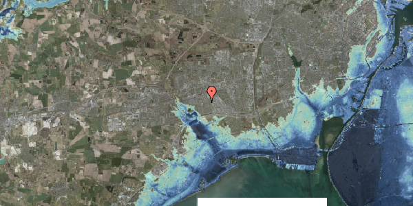 Stomflod og havvand på Hyrdeengen 267, 2625 Vallensbæk