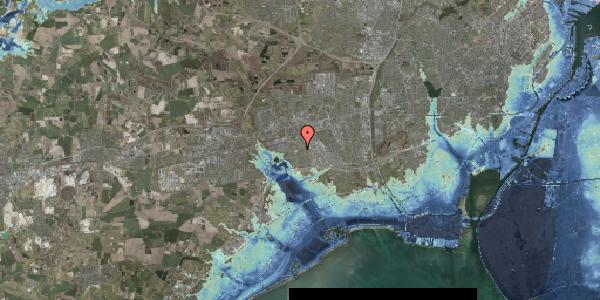Stomflod og havvand på Hyrdeengen 317, 2625 Vallensbæk