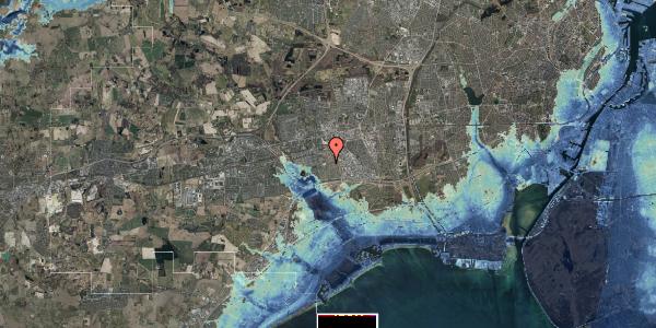 Stomflod og havvand på Hyrdeengen 355, 2625 Vallensbæk