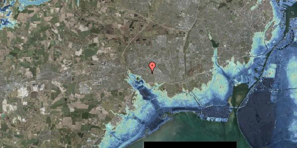 Stomflod og havvand på Hyrdeengen 383, 2625 Vallensbæk