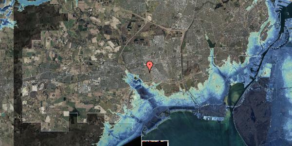 Stomflod og havvand på Hyrdeengen 397, 2625 Vallensbæk