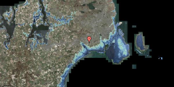 Stomflod og havvand på Jydekrogen 1, 2625 Vallensbæk