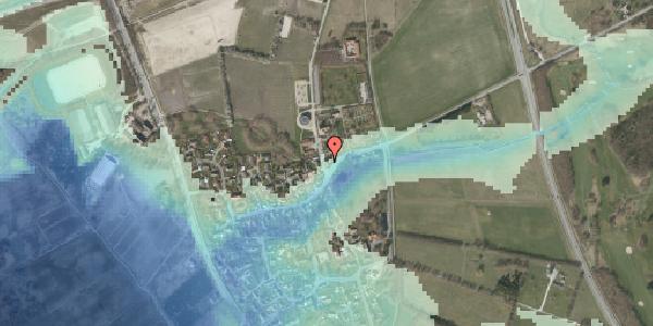 Stomflod og havvand på Kirkebakke Alle 2, 2625 Vallensbæk