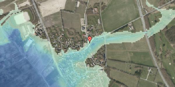 Stomflod og havvand på Kirkebakke Alle 3, 2625 Vallensbæk