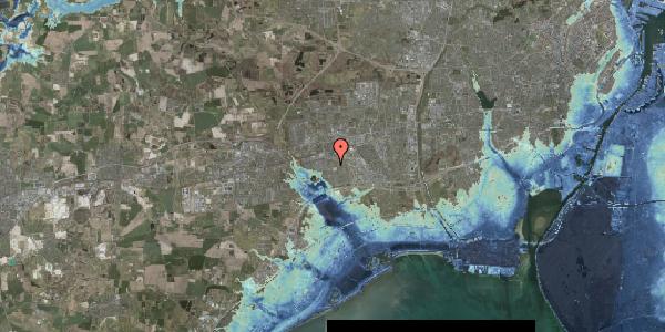 Stomflod og havvand på Løkkekrogen 2, 2625 Vallensbæk