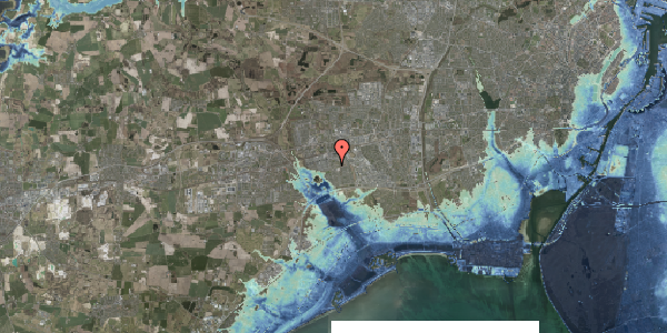 Stomflod og havvand på Løkkekrogen 5B, 1. 26, 2625 Vallensbæk