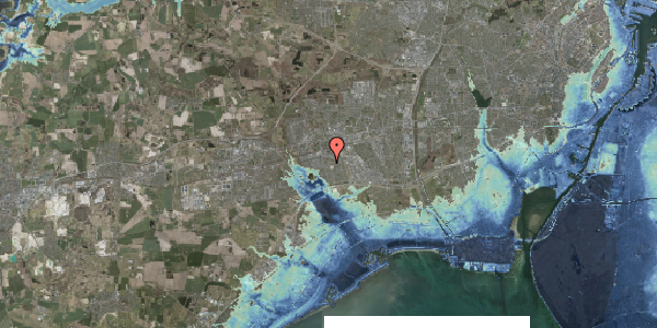 Stomflod og havvand på Løkkekrogen 5C, 1. 36, 2625 Vallensbæk