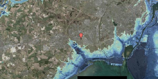 Stomflod og havvand på Løkkekrogen 28, 2625 Vallensbæk