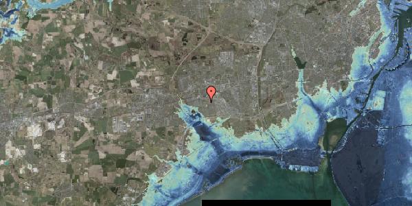 Stomflod og havvand på Løkkekrogen 32, 2625 Vallensbæk