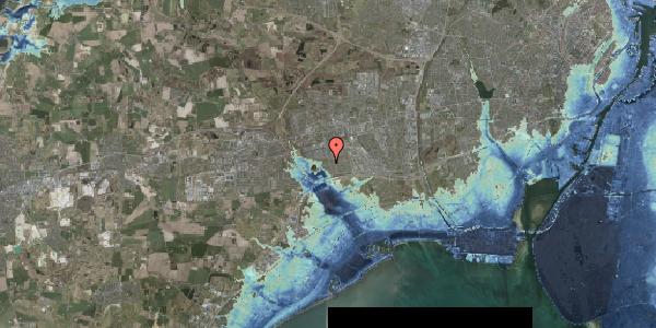 Stomflod og havvand på Løkketoften 22, 2625 Vallensbæk