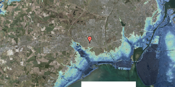 Stomflod og havvand på Nordmarksvænge 27, 2625 Vallensbæk