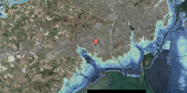 Stomflod og havvand på Nordmarksvænge 28, 2625 Vallensbæk