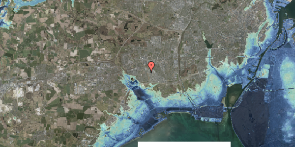 Stomflod og havvand på Nordmarksvænge 38, 2625 Vallensbæk