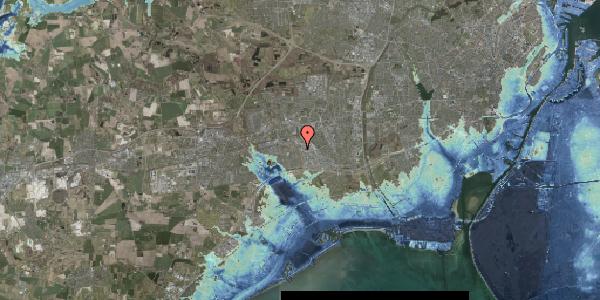 Stomflod og havvand på Nordmarksvænge 42, 2625 Vallensbæk