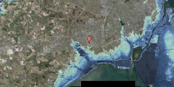 Stomflod og havvand på Nordmarksvænge 45, 2625 Vallensbæk