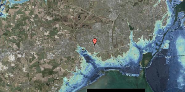 Stomflod og havvand på Nordmarksvænge 60, 2625 Vallensbæk
