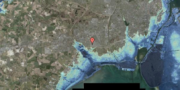 Stomflod og havvand på Nordmarksvænge 61, 2625 Vallensbæk