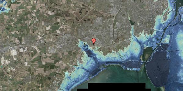 Stomflod og havvand på Nørrebred 7, 2625 Vallensbæk
