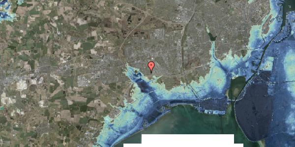 Stomflod og havvand på Nørrebred 19, 2625 Vallensbæk