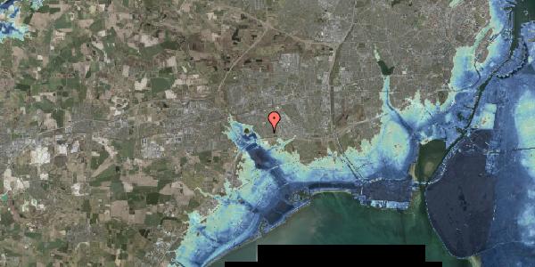 Stomflod og havvand på Nørrebred 25, 2625 Vallensbæk