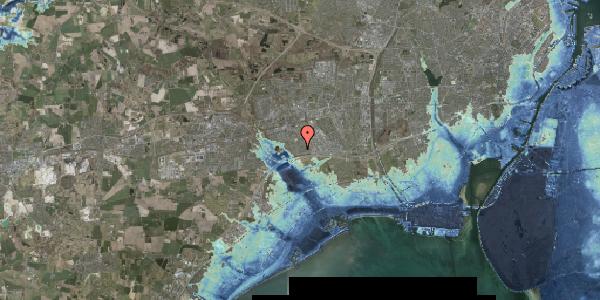 Stomflod og havvand på Nørrebred 43, 2625 Vallensbæk