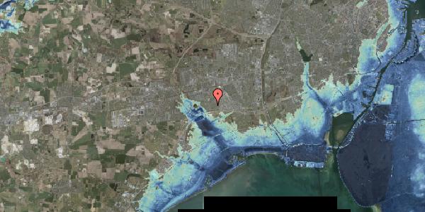 Stomflod og havvand på Nørrebred 100, 2625 Vallensbæk