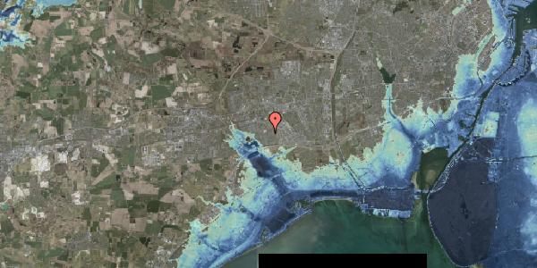 Stomflod og havvand på Nørrebred 123, 2625 Vallensbæk