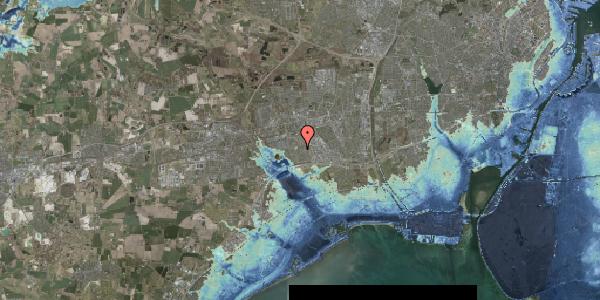 Stomflod og havvand på Nørrebred 135, 2625 Vallensbæk