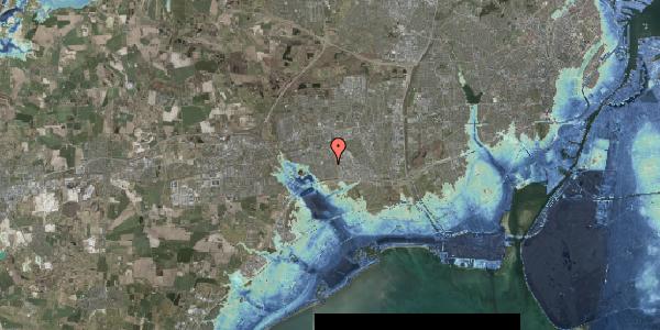 Stomflod og havvand på Nørrebred 212, 2625 Vallensbæk