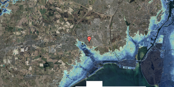 Stomflod og havvand på Pilehavevænge 6, 2625 Vallensbæk