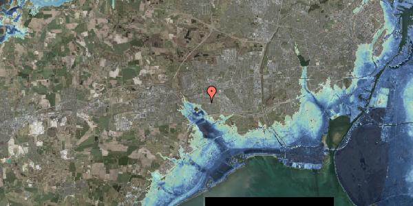 Stomflod og havvand på Pilehavevænge 39, 2625 Vallensbæk