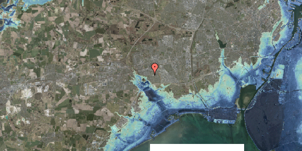Stomflod og havvand på Pilehavevænge 43, 2625 Vallensbæk