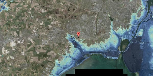 Stomflod og havvand på Pilehavevænge 54, 2625 Vallensbæk