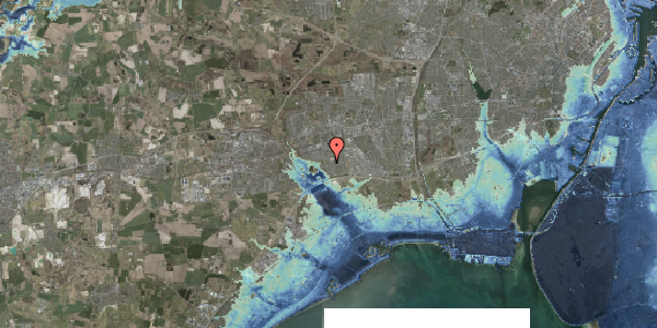 Stomflod og havvand på Pilehavevænge 79, 2625 Vallensbæk