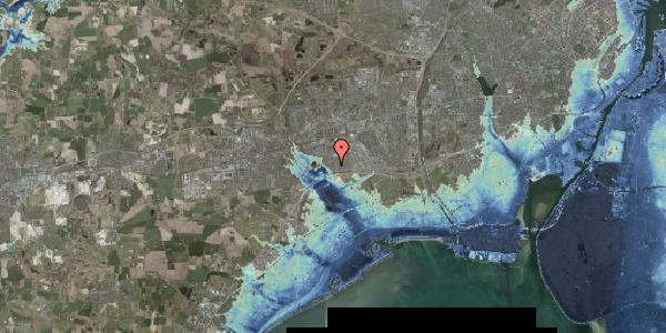 Stomflod og havvand på Pilehavevænge 80, 2625 Vallensbæk