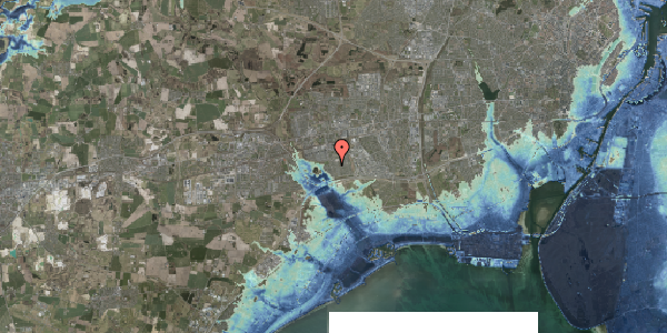 Stomflod og havvand på Pilehavevænge 83, 2625 Vallensbæk