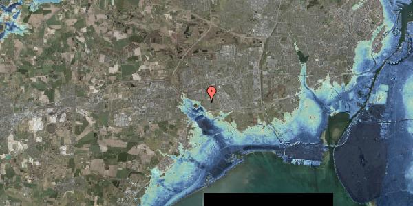 Stomflod og havvand på Pilehavevænge 91, 2625 Vallensbæk