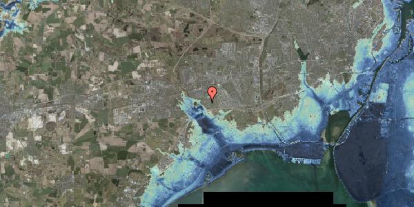 Stomflod og havvand på Pilehavevænge 104, 2625 Vallensbæk