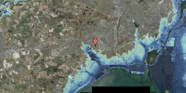 Stomflod og havvand på Pilehavevænge 112, 2625 Vallensbæk