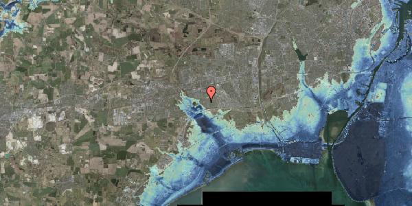 Stomflod og havvand på Pilehavevænge 114, 2625 Vallensbæk