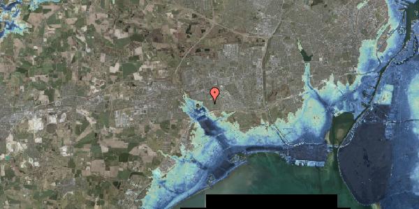 Stomflod og havvand på Pilehavevænge 116, 2625 Vallensbæk
