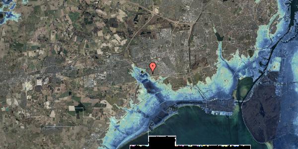 Stomflod og havvand på Rendsagervej 16, 2625 Vallensbæk