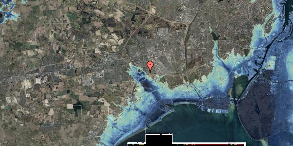 Stomflod og havvand på Rendsagervej 24, 2625 Vallensbæk